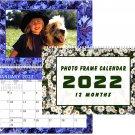 2022 Photo Frame Wall Spiral-bound Calendar - (Edition #025)