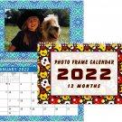 2022 Photo Frame Wall Spiral-bound Calendar - (Edition #026)