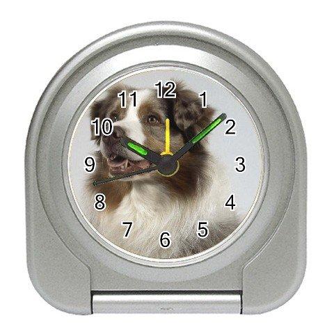 Australian Shepherd Dog Travel Alarm Clock 12102638