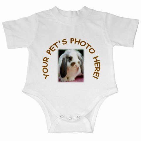 Your Pet Picture Customized Personalized Infant Creeper 12114999