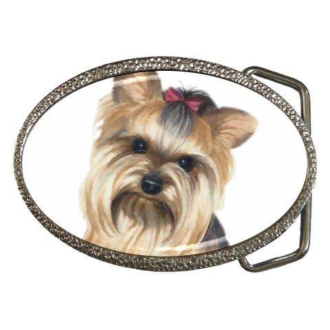 Yorkie Yorkshire Terrier Dog Belt Buckle  12110664