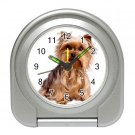 Yorkshire Terrier Yorkie Dog Pet Lover Travel Alarm Clock  12111031