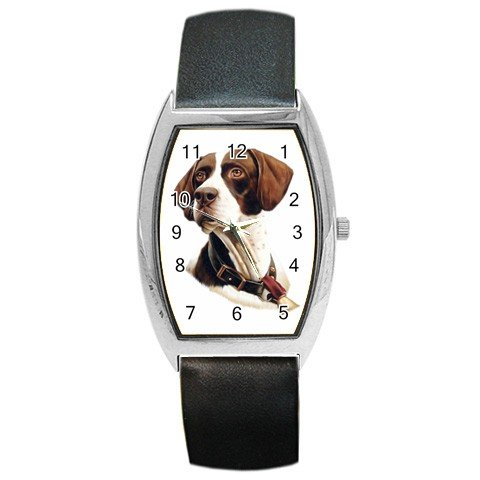 Pointer Dog pet lover  Barrel Style Metal Watch Unisex  12125441