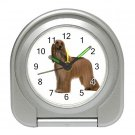 Afghan Hound  Dog Pet Lover Travel Alarm Clock 12112198