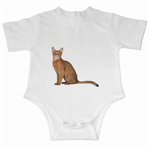 Abyssinian Cat Pet Lover Infant Creeper  12168368