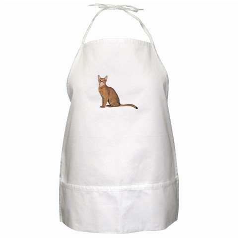 Abyssinian Cat Pet Lover BBQ Apron 12168419