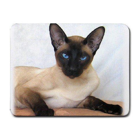 Siamese Cat Pet Lover Small Mousepad 12203165