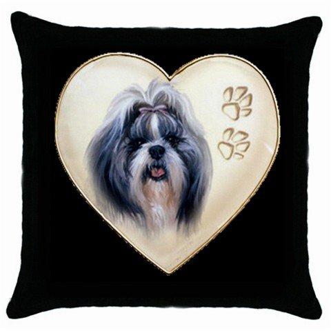 """New Shih Tzu Pillow Case Pillowcase 18"""" Toss or Throw 14298299"""