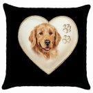 """New Dog Golden Retriever   18"""" Toss or Throw Pillow Case Pillowcase  14298314"""