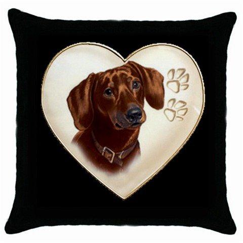 "New Dachshund Dog 18"" Pillowcase Pillow Case Toss or Throw  14298315"