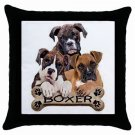 "Boxer Dog Pillow Case Pillowcase 18"" Toss or Throw 15832805"