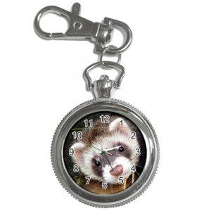 Ferret Pet Lover Key Chain Watch  17473606