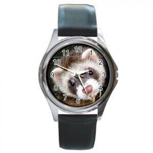 Ferret Round Metal Watch UNISEX 17473591