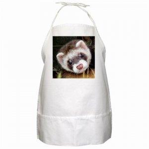 Ferret Pet Lover BBQ Apron 17473629