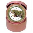 Iguana Lizard Reptile Pet Lover Jewelry Case Clock Pink 12239870