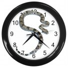 Boa Pet Lover Black Wall Clock 12240331