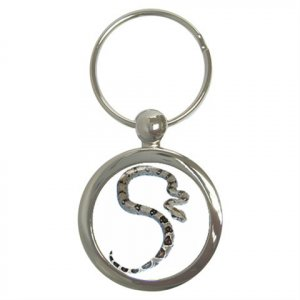 Boa Pet Lover Key Chain Round 12240337