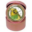 Parakeet Bird Jewelry Case Clock Pink Pet Lover  16301638