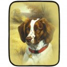 SPANIEL DOG Polar Fleece Lap Blanket - 20933409