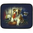 Bulldog Football Polar Fleece Lap Blanket -20934859