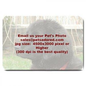 YOUR Custom Pet Photo Large BATHMAT OR  DOORMAT indoor outdoor