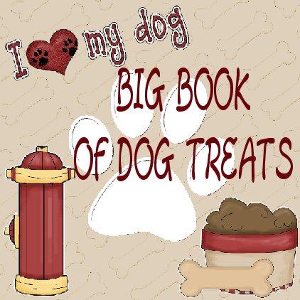 2 E-BOOKS BIG BOOK of Dog Treats Recipes over 100 Recipes