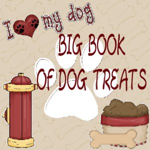 2 E-BOOKS BIG BOOK of Dog Treats Recipes over 100 Recipes