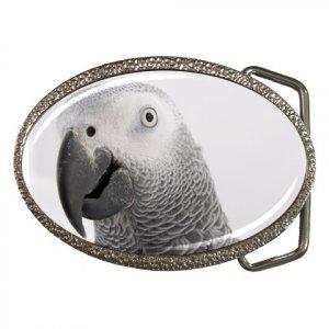 AFRICAN GREY Bird Pet Lover Belt Buckle 17476844
