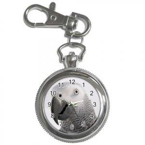 AFRICAN GREY Bird Pet Lover Key Chain Watch keychain 17476845