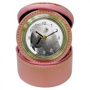 AFRICAN GREY Bird Jewelry Case Clock Pink Pet Lover  17476864 PAEC