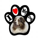 AUSTRALIAN SHEPHERD Dog Pet Lover Paw Print Magnet 27018391 PAEC