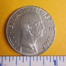 50 Centesimi 1941 Italy World Coin Rome Eagle Italia Europe #2