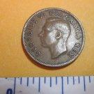 Canada 1951 1 Cent Copper Canadian Penny GEORGVIS VI D G REX ET IMP #2