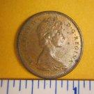 Canada 1965 1 Cent Copper One Canadian Penny ELIZABETH II #2