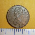 Canada 1965 1 Cent Copper One Canadian Penny ELIZABETH II #1