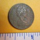 Canada 1969 1 Cent Copper One Canadian Penny ELIZABETH II