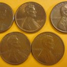 1976 Lincoln Memorial Penny 5 Pieces #3
