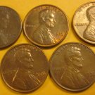 1976 Lincoln Memorial Penny 5 Pieces #10