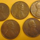 1976 Lincoln Memorial Penny 5 Pieces #12