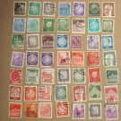 GERMANY COLLECTION OF OLD STAMPS 70 PIECES LOT 1