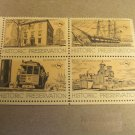 8 cent Historic Preservation Stamps 4 pieces Lot #2