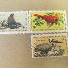 Wildlife Conservation 8 cent 3 Stamps Scott# 1427-30 - 1971 Lot 3