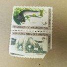 Wildlife Conservation 8 cent 2 Stamps Scott# 1427-30 - 1971 Lot 4