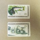 Wildlife Conservation 8 cent 2 Stamps Scott# 1427-30 - 1971 Lot 5