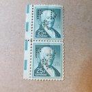 2 UNUSED $0.25 Stamps PERFORATED PAUL REVERE
