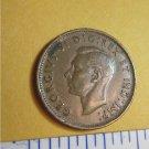 Canada 1946 1 Cent Copper Canadian Penny GEORGVIS VI D G REX ET IMP #2