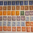 Great Britain Queen Elizabeth II Manchin Assorted Canceled Stamps 48 PIECES