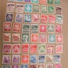 GERMANY COLLECTION OF OLD STAMPS 49 PIECES LOT 2
