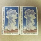 US 1972 8c Old Faithful Yellowstone National Parks Centennial Stamps Lot 5