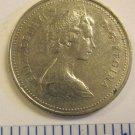 1979 5 cents CANADA CARIBOU ELIZABETH II DEI GRACIA REGINA